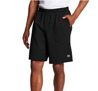 Champion Shorts Pants Pockets Mens Long Athletic Fit Gym Basketball Workout