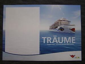 AIDA, das Clubschiff, Plakat, Poster