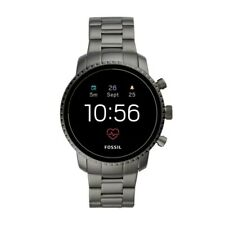 Fossil Mens Gen 4 SmartWatch HR Stainless Steel Touchscreen iPhone Android