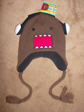 Domo Kun Face with Headphones DJ Japan Peruvian Adult Pilot Laplander Hat