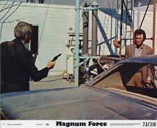 MAGNUM FORCE/DIRTY HARRY original photo CLINT EASTWOOD studio color lobby still