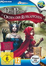 DARK PARABLES 4 * DER ORDEN DER ROTKÄPPCHEN *  WIMMELBILD-SPIEL  PC DVD-ROM