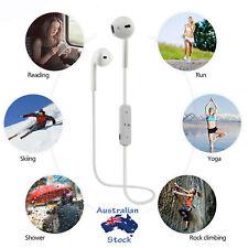 Wireless 4.1 Bluetooth Headset Sport Headphone Earphone Mic for Samsung iPhone