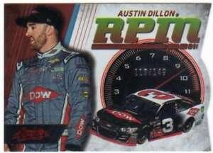 2017 Panini Absolute Racing RPM Spectrum Red /149 #15 Austin Dillon