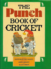 """""""The Punch Book of  Cricket"""" illustrated hardback 1985"""