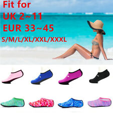 Adult Kids Water Skin Shoes Socks Diving Socks Pool Beach Swim Slip On Surf UK