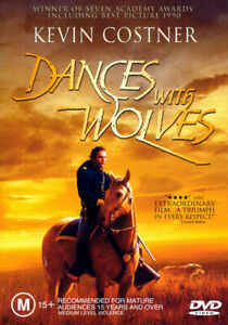 Dances With Wolves - Kevin Costner, Mary McDonnell - New & Sealed DVD