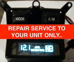 Ford F150 F250 F350 Compass Temperature Overhead Console Display Repair Service
