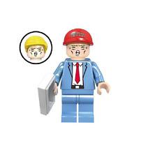 USA STATI UNITI AMERICA PRESIDENTE DONALD Trump Mini Figura Personalizzata si adatta LEGO