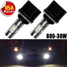 2x HID White 880 892 893 899 High Power 30W LED Bulb Fog Daytime Running Light