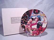 Avon Christmas Dreams 2000 22K Gold Trimmed Collectible Plate