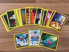 Merlin Pokemon JOHTO LEAGUE CHAMPIONS stickers 2002 - 27 different stickers