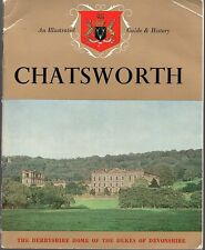 Vintage 1960's Great Britain Travel Booklet - Chatsworth, Derbyshire