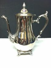 VINTAGE SILVERPLATED WM ROGERS & SON TEA / COFFEE  POT #2601