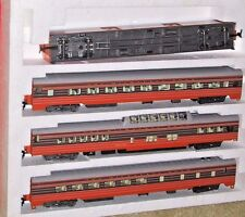 Rivarossi 6966 Milwaukee Road HIAWATHA 4-Car SS Set A w/ Interiors