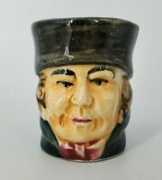 VINTAGE Hand Made & Painted Colonial Man Creamer Made In JAPAN