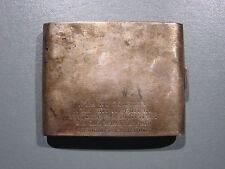 PORTE CIGARETTE AMERICAIN METAL ARGENTE
