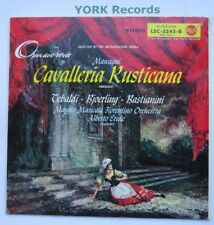 LSC 2243-Mascagni-Cavalleria mette in evidenza Tebaldi/Bjoerling-exlp RECORD