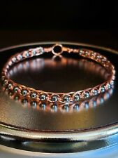 Eygptian Style Copper and Hematite Bracelet EMFs Protection