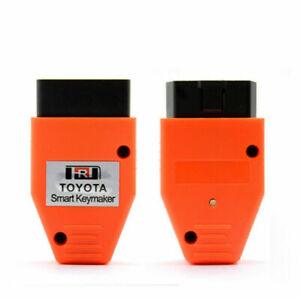 For Toyota Lexus Smart Key Programmer VIA OBD II OBD2 4D 4C Chip Smart Key