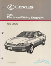 Shop Manual Es300 1998 Lexus Book Electrical Service Repair Wiring Diagram