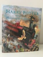 Harry Potter and the Philosopher's Stone- SIGNED & DOODLED BY Jim Kay UK 1st/1st