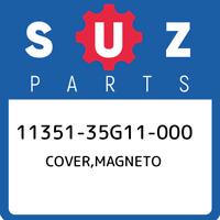 11351-35G11-000 Suzuki Cover,magneto 1135135G11000, New Genuine OEM Part