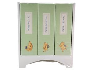 Classic Winnie Pooh 3 Photo Album Set Library Stand NEW NIP 4x6 PVC-free Pages