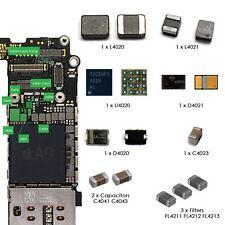 Para iPhone 6s y el iPhone 6s Plus de luz de fondo Reparación IC Bobina Diodo & Filtros Kit Completo
