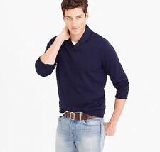 J.Crew Men's Cotton / Cashmere shawl collar Sweater Size Large