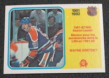 1982-83 O-Pee-Chee #240 Wayne Gretzky LL - NM-MT/MT (CS)