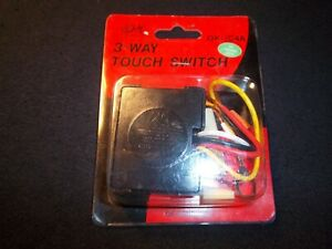OK Lighting #OK-IC4A -3 Way Touch Switch 120V 100W Incandescent Only