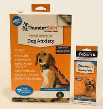 2 Thunder Items ThunderShirt MEDIUM CAMO + ThunderEase Calming Spray 2 ITEMS