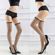 Lady Womens Sheer Lace Top Stay Up Thigh High Hold-ups Stockings Pantyhose Sexy