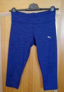 PUMA Damen Sporthose Gr. 38 Trainingshose Pants ALL EYES ON ME 3/4 Tight S