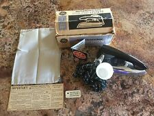 GENERAL ELECTRIC TRAVEL SPRAY STEAM & DRY TRAVEL IRON Cat. No. F47