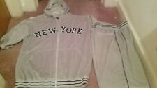 DELF  USA  New York Men's short sleeve 2 pc set