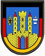 Wappen von Grimma Aufnäher, Pin, Aufbügler