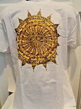 AZTEC SUNDIAL T-SHIRT, LIMITED EDITION, DOUBLE SIDED, HIGH-QUALITY