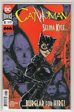 """Catwoman Issue #8  """"Selina Kyle Burglar for Hire"""" DC Comics (1st Print 2019)"""