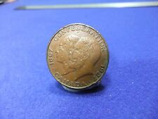 vtg coin medallion confederation of canada 1867 george mary 1927 25mm dia