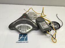 Polycom VoiceStation 100 Conference Phone 2201-06846-001 W/ 2201-06856-001