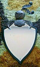 Antique Big Armor Iron Mirror