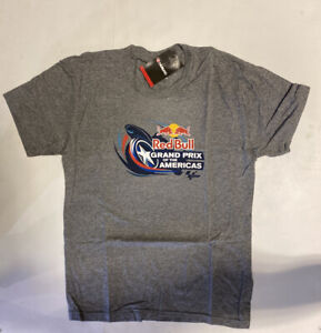 Red Bull Circuit Of The Americas Cavallino Mens S Super Soft T-Shirt NWT 1507