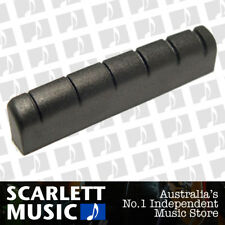Graph Tech TUSQ XL Guitar Nut for Gibson • Slotted • Black PT-6010-00