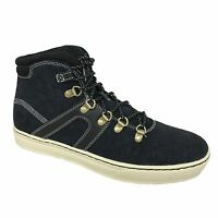 Timberland Men's Dauset Hiker Fabric & Leather Dark Navy Ankle Shoes Style A1HKG