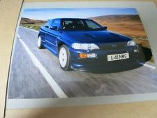 FORD - ESCORT RS COSWORTH 4x4 UK SPECIFICATION 1992 - PRESS MEDIA PHOTOGRAPH
