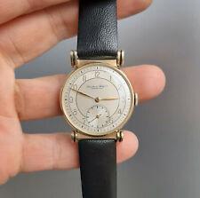 Vintage IWC Schaffhausen 14K Gold C83 Circa 1939 International Watch Company