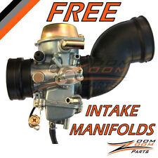 1998 1999 Yamaha Grizzly YFM 600 Carburetor + 2 FREE Intake Manifold Boot Carb