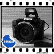 CANON POWERSHOT SX510 HS - SUPER-ZOOM 24-720mm, WI-FI E CONTROLLI MANUALI